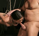 Bound Tabitha Tucker is Master Alex sex toy slave to be fucked