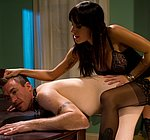 Gia Dimarco femdom cuckolds her husband with a hot stud