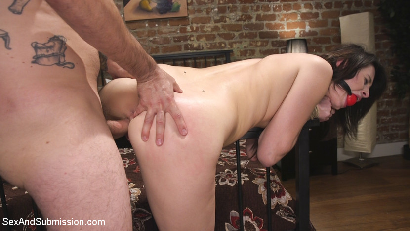 Maledom spanking with anal